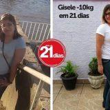 História de sucesso da Gisele que emagreceu 10 quilos em 3 semanas
