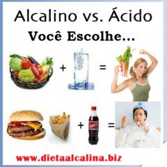 Porquê beber água alcalina e fazer uma alimentação alcalina se tudo fica ácido no estômago?